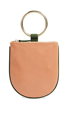 OTAAT/MYERS Collective Women's x OTAAT Medium Ring Pouch, Camel/Jade, One Size