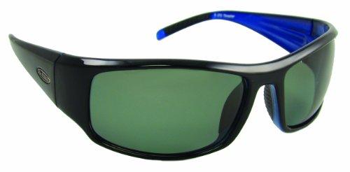 Sea Striker Thresher Polarized Sunglasses, Black/Grey Lens