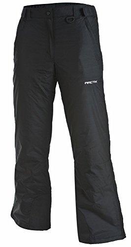 Arctix Women's Insulated Snow Pant, Black, - Shorts Bib Women
