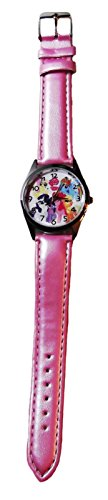 My Little Pony FRIENDSHIP IS MAGIC Pink Genuine Leather Band WRIST WATCH - Pony Watch