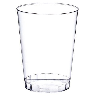OCCASIONS Wedding Disposable Plastic Tumbler Cups (Clear, 10 oz Tumbler, 100 (Plastic Party Tumblers)