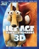 Ice Age: Dawn Of The Dinosaurs 3D (BD 3D + Blu-ray + DVD + Digital Copy)