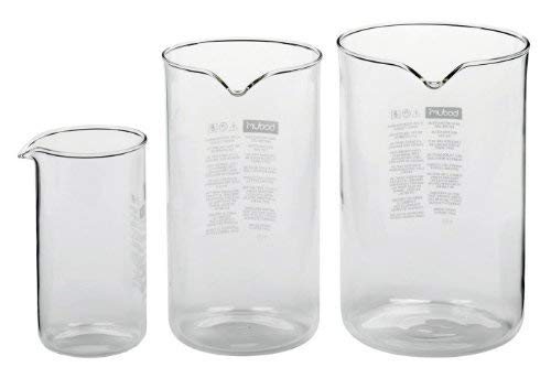Bodum Spare Beaker//Glass with Spout for Coffee Makers Transparent