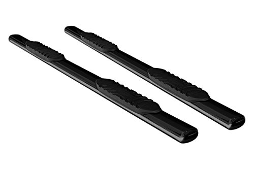 "TAC 2007-2016 CHEVY SILVERADO/GMC SIERRA 1500 CREW CAB / 07-10 CHEVY SILVERADO/GMC SIERRA 2500HD CREW CAB 6"" OVAL BLACK Side Bar Step Nerf Bars Running Boards"