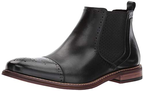 STACY ADAMS Mens Alomar Cap Toe Chelsea Boot