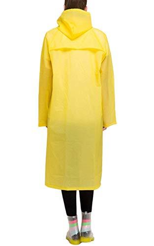 Di Indossato Polka Gelb Delle Facilmente Casuale Cappotto Coat Pioggia Trench Dots Vento Battercake Impermeabile Laterali Donne Tasche ST1pq
