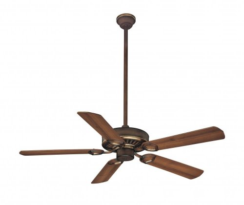 Belcaro Walnut Classic - Minka-Aire F588-SP-BCW, Ultra-Max Belcaro Walnut 54 inch Ceiling Fan with Wall & Remote Control