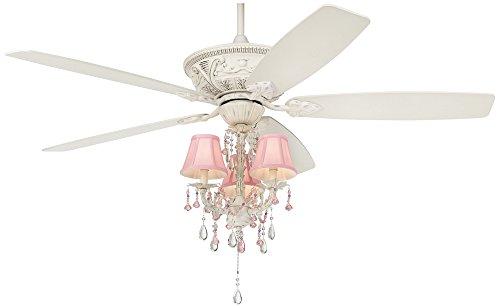 Cheap 60″ Casa Vieja Montego Pretty In Pink Light Kit Ceiling Fan