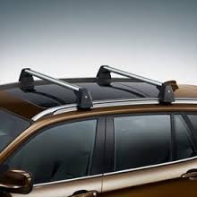 Factory Roof (BMW X5 (F15 only) Genuine Factory - Profile Roof Rack Cross Bars 2014 -)