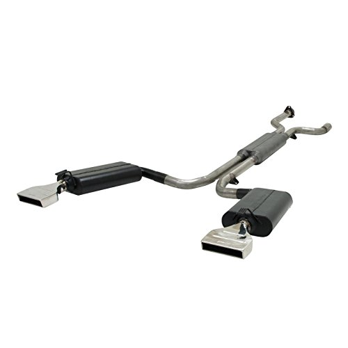 Flowmaster 817670 Force II 409S Stainless Steel Cat-Back Exhaust System with Moderate Sound