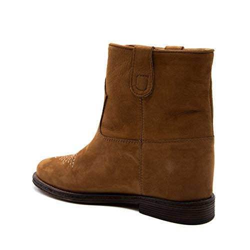 Via Roma 15 3132brown Pelle Stivaletti Marrone Donna WS8AUg