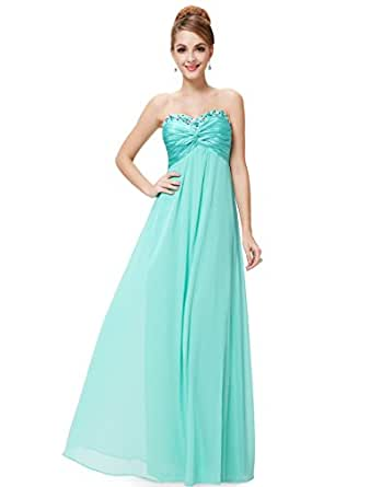 HE09568LB06, Light Blue, 4US, Ever Pretty Casual Cocktail Party Dresses 09568