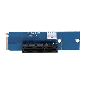 Amazon.com: Conectores elevadores M2 a PCI-e 4X elevador de ...