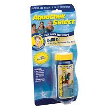 Aquacheck Select 7-Way Test Strips with Color Chart Insert