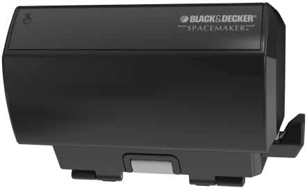 BLACK+DECKER CO100B SpaceMaker Under The Cabinet Multi-Purpose Can Opener, Black