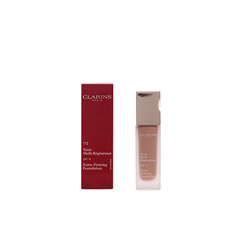 Clarins Extra Firming Foundation with SPF 15, 112 Amber, 1.1