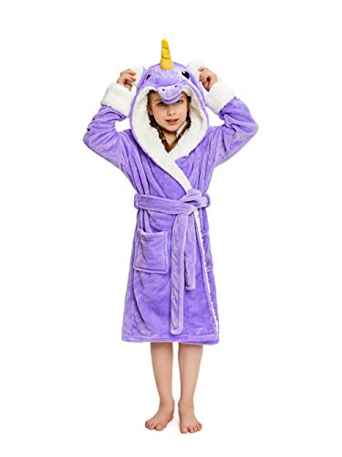 Which is the best kids robes for girls plush unicorn?