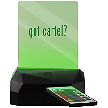 got Cartel? - LED USB Rechargeable Edge Lit Sign - - Amazon.com