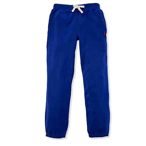 Polo Ralph Lauren Boys Fleece Jogger Sweat Pants (M 10-12) Blue