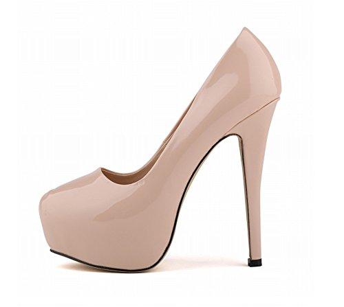 Marron Mariage Hauts Talons De Femmes Tmkoo Sexy Ultra Chaussures ZqUx7