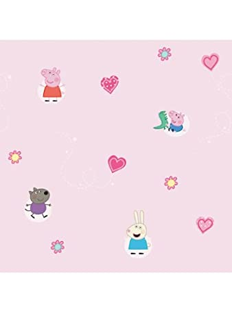 Peppa Pig Wallpaper Amazoncouk Kitchen Home