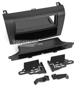 Metra 99-7504 Single DIN Installation Dash Kit for 2004-2009 Mazda 3 -Black ()