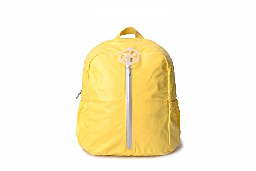 "Lifeix TLXSYELLOW""Cutie"" Kids Backpack Paper Made, Waterproof, Tear Proof, Light Weight, Yellow Review"