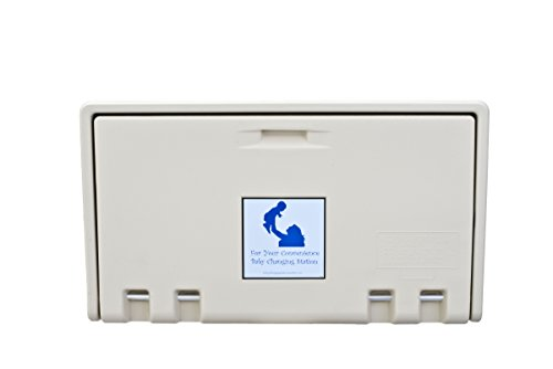 Horizontal Changing Table - AHD 107-00 Cream Horizontal Baby Changing Station