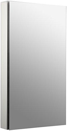 Kohler K-2939-PG-SAA Catalan Medicine Cabinet, Satin Anodized Aluminum