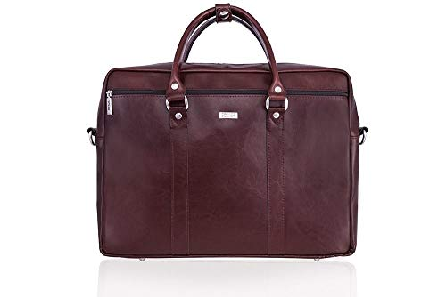 Bag Shoulder Kilbridge Leather Burgundy Black Laptop fq0zw8Rn