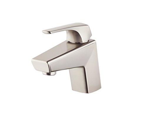 (Pfister LG42LPMK Arkitek Single Control 4 Inch Centerset Bathroom Faucet in Brushed Nickel, Water-Efficient Model)