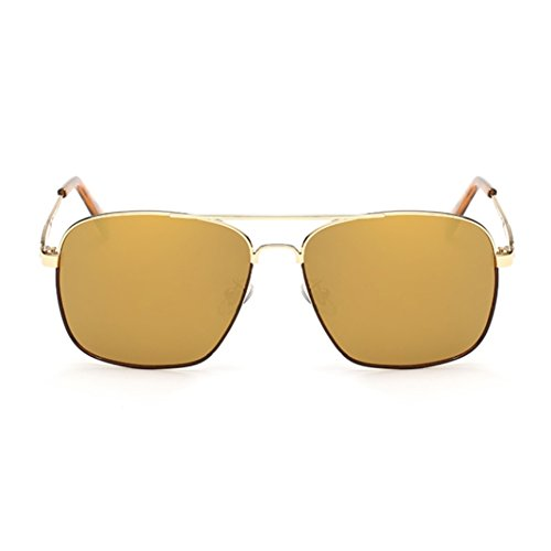 EYSHADE BSG800030C3 New Style Resin Polarized Lens Retro Metal Frames - To What Camping Take List