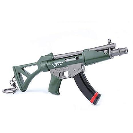 mankecheng Juegos Metal MP5 Submachine Gun Modelo Acción ...