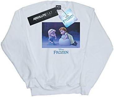 Disney Herren Frozen Build A Snowman Sweatshirt Weiß XXXX-Large