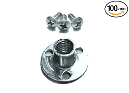 Durable Steel Hardware 100 Escape Climbing Industrial Gym T-Nut Easy Installation with Hardware Included