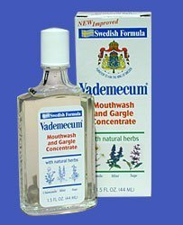 Vademecum Mouthwash And Gargle Concentrate - 2.5 Oz by De...