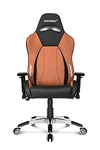 AKRacing Premium Series Luxury Sports Gaming Chair Brown
