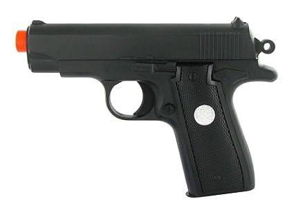 Amazon.com : spring metal compact .45 style pistol fps-215 ...