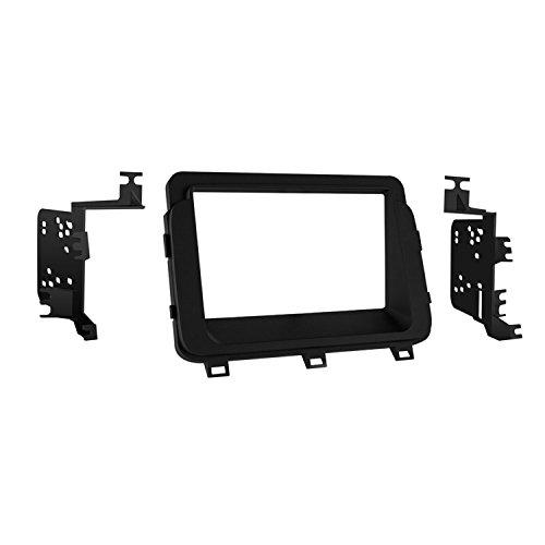 Metra 95-7359B Double DIN Dash Kit for Select 2014 and Kia Optima Vehicles (Black)