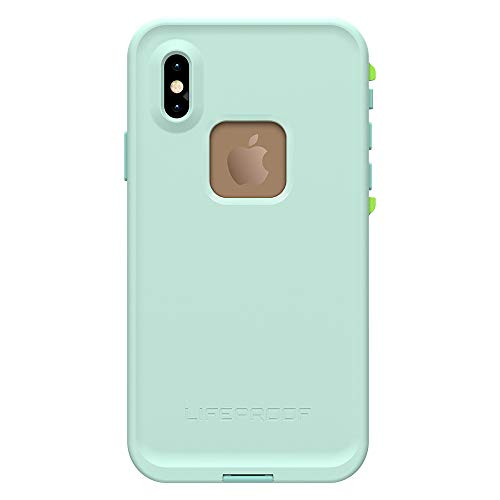 Lifeproof FRĒ Series Waterproof Case for iPhone Xs (ONLY) - Retail Packaging - Tiki (FAIR Aqua/Blue Tint/Lime) by LifeProof (Image #2)