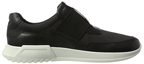 ECCO Men's Luca Elastic Slip On Fashion Sneaker Black/Black websites cheap price sale best sale cheap clearance marketable 1n2Rw