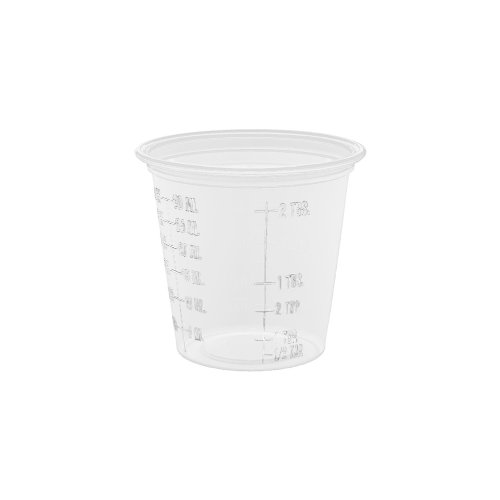 Dart 125PCG Conex Complements Graduated Plastic Portion Cups, 1.25oz, Translucent, 2500/CT