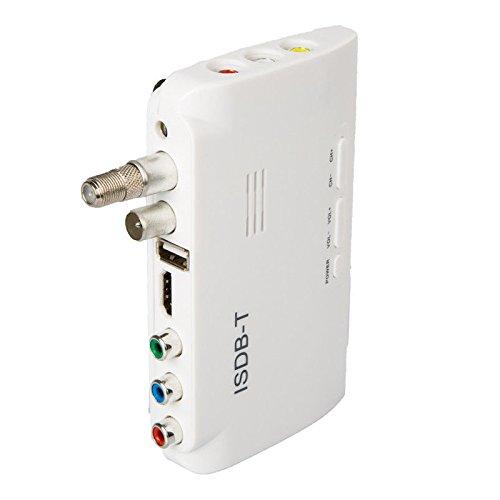 Amazon.com: TOOGOO ISDB-T Digital Terrestrial Receiver HD Monitor Video Converter TV Set Top Box HU(US Plug): Electronics