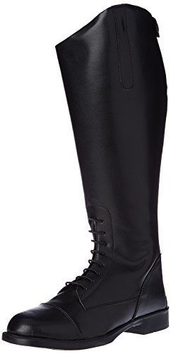 HKM–Botas de equitación para New Fashion corta/Gran negro