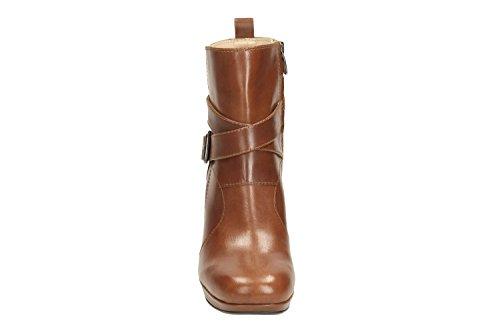 Clarks Gabriel Mix - Botas de Piel para mujer marrón marrón