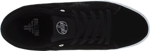 Fallen Chief Mid 23818002 - Zapatillas de skate de ante unisex Noir - Blanc/noir