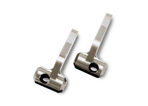 Traxxas 5536R Titanium-Anodized 6061-T6 Aluminum Steering Blocks (pair)
