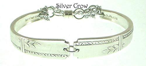 - Silverware Bracelet Grenoble Pattern Silver Plate