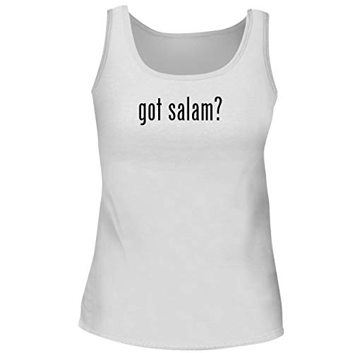 BH Cool Designs got Salam? - Cute Women's Graphic Tank Top, White, XX-Large