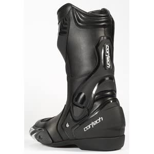 Cortech Latigo WP Men's Road Race Motorcycle Boots (Black, Size 14/EU 49)